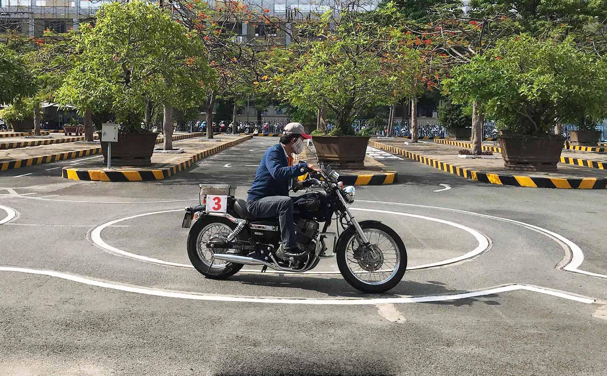 Địa điểm thi bằng lái xe A2 Đà Nẵng