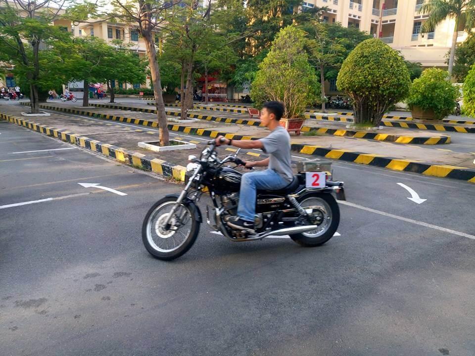Thi thử bằng lái xe a2 Đà Nẵng