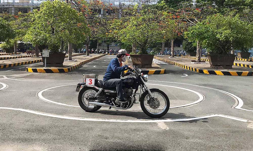 Thi Bằng Lái Xe Mô Tô A2 Huyện Hoàng Sa