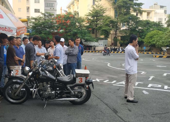 Thi Bằng Lái Xe Mô Tô A2 Quận Hải Châu